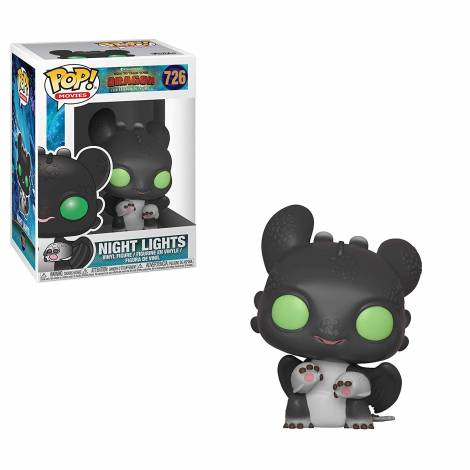 Funko Pop! Movies: How to Train Your Dragon 3 - Night Lights 1 #726