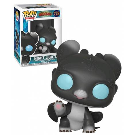Funko Pop! Movies: How to Train Your Dragon 3 - Night Lights 3 #728