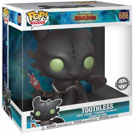 Funko POP Movies: How To Train Your Dragon 3-Toothless 10