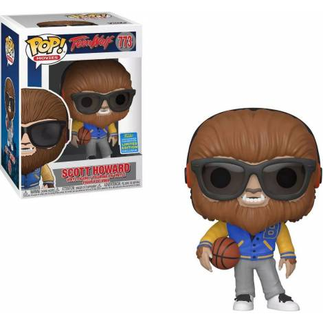 Funko POP! Movies: Teen Wolf - Scott Howard (SDCC Limited Edition Exclusive) #773 Vinyl Figure