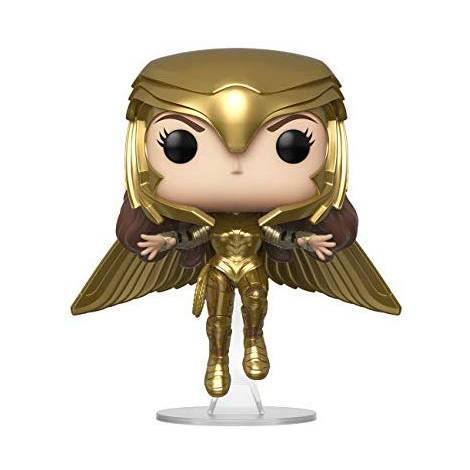 Funko POP! Movies: Wonder Woman 1984 - Wonder Woman (Gold Flying Pose) # Vinyl Figure