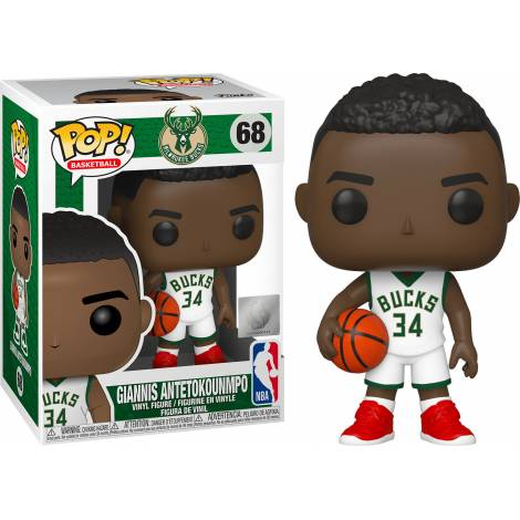 Funko POP! NBA: Bucks - Giannis Antetokounmpo #68 Vinyl Figure