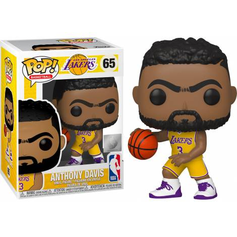 Funko POP! NBA: Lakers - Anthony Davis #65 Vinyl Figure