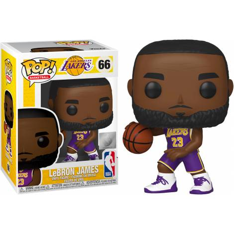 Funko POP! NBA: Lakers - Lebron James #66 Vinyl Figure