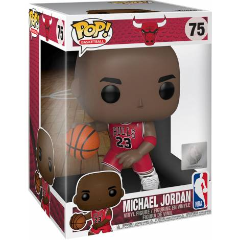 Funko POP! NBA - Michael Jordan (Red Jersey) Supersized Figure