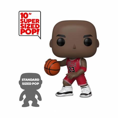 Funko POP! NBA - Michael Jordan (Red Jersey) Supersized Figure