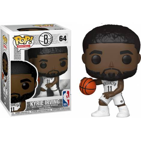 Funko POP! NBA: Nets - Kyrie Irving #64 Vinyl Figure