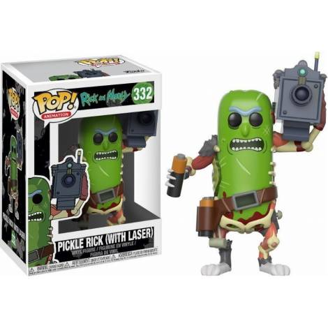 Funko Pop! Rick and Morty - Pickle Rick With Laser #332 Vinyl Figure