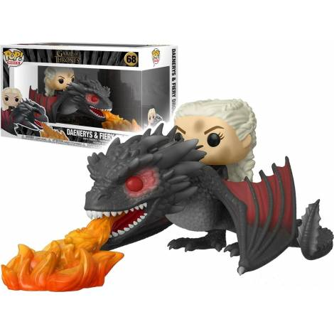 Funko POP! Rides Game of Thrones - Daenerys on Fiery Drogon # Vinyl Figure