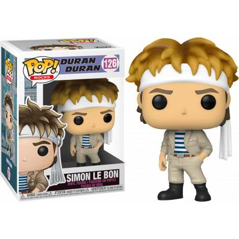 Funko POP! Rocks Duran Duran - Simon Le Bon #126 Vinyl Figure