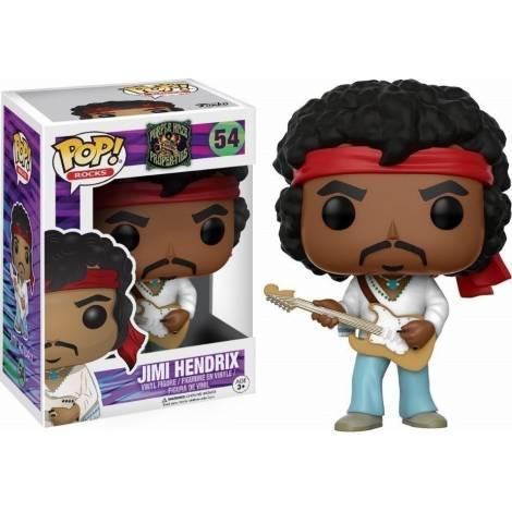 Funko Pop! Rocks: Purple Haze Properties - Jimi Hendrix (Woodstock) #54 Vinyl Figure