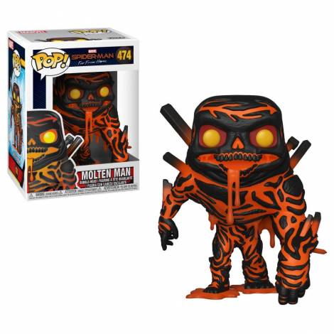 Funko POP! Spider-Man Far From Home - Molten-Man #474 Vinyl Bobble-Head Figure