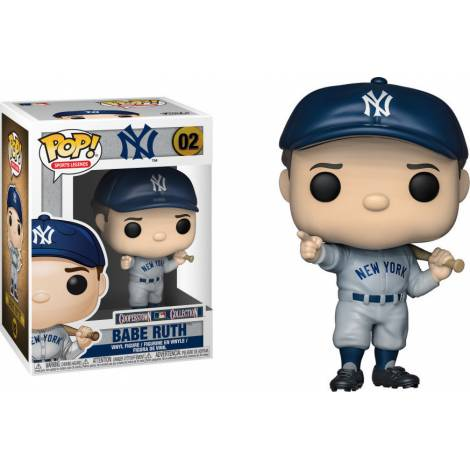 Funko Pop! Sports: mlb Babe Ruth (New York Yankees) #02 Vinyl Figure