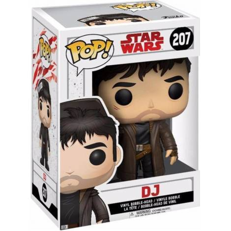 Funko POP! Star Wars E8 The Last Jedi - DJ #207 Figure (Exclusive)