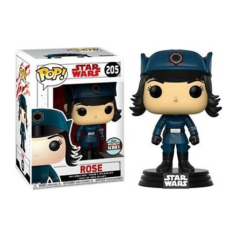 Funko POP! Star Wars Episode 8 The Last Jedi - Rose in Disguise #205 Bobble Head (Exclusive)