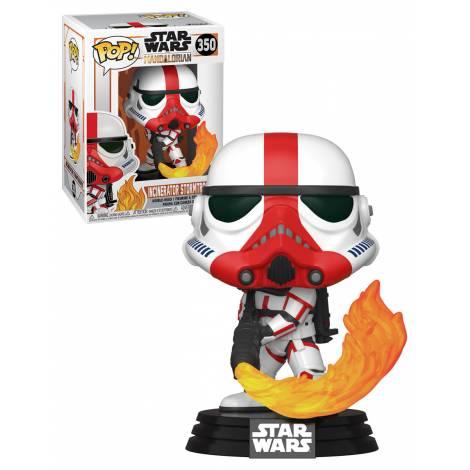 Funko POP! Star Wars: Mandalorian - Incinerator Stormtrooper # Vinyl Figure #350