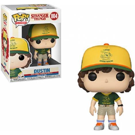 Funko POP! Television: Stranger Things - Dustin (At Camp) #804 Vinyl Figure