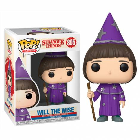 Funko POP! Television: Stranger Things - Will The Wise #805 Vinyl Figure