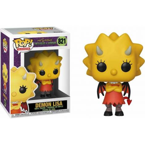 Funko POP! Television: The Simpsons Treehouse of Horror S3 - Demon Lisa #821 Vinyl Figure