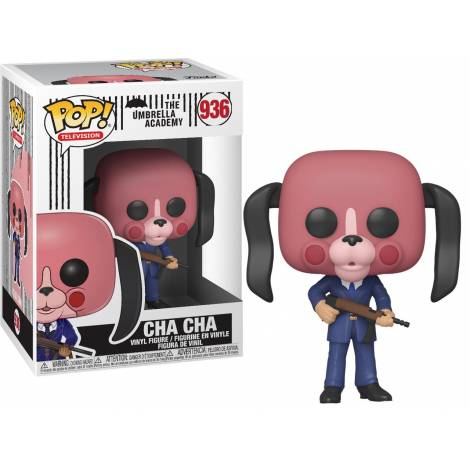 Funko POP! Television: The Umbrella Academy - Cha Cha with Mask #936 Vinyl Figure