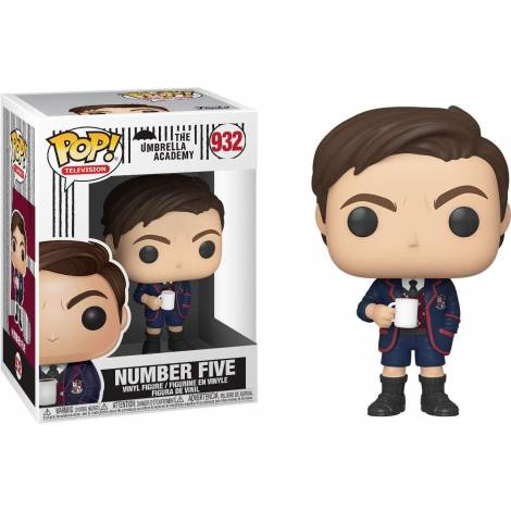 Funko POP! Television: The Umbrella Academy - Number Five* #932 Vinyl Figure