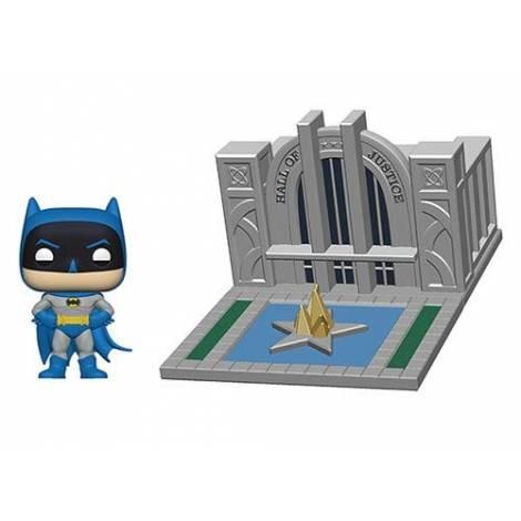 Funko POP! Town Batman 80th - Hall of Justice w/Batman #09 Vinyl Figure