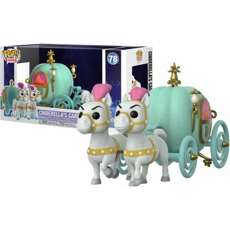 Funko POP! Town: Cinderella - Carriage W/Fairy Godmother
