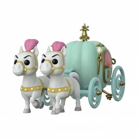 Funko POP! Town: Cinderella - Carriage W/Fairy Godmother