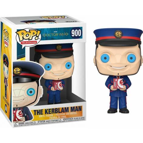 Funko POP! TV: Doctor Who - The Kerblam Man (GW) #900 Vinyl Figure