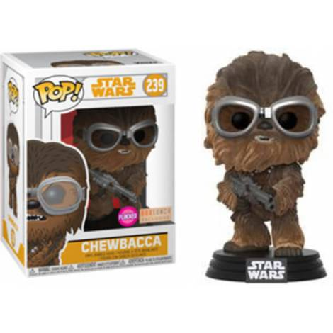 Funko POP Vinyl Chewie w/ Goggles Flocked #239 Star Wars: Solo
