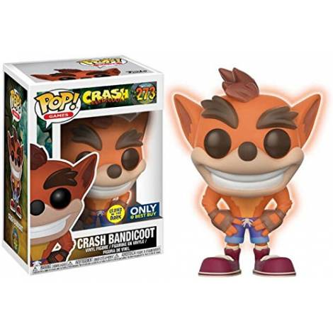 Funko POP! Vinyl Crash Bandicoot GITD #273 Games: Crash Bandicoot
