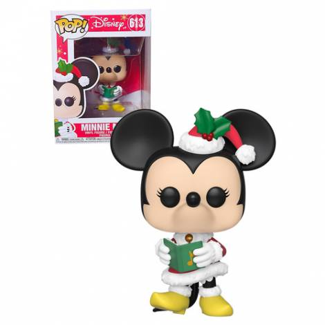 Funko POP. Vinyl Disney: Holiday-Minnie Collectible Figure
