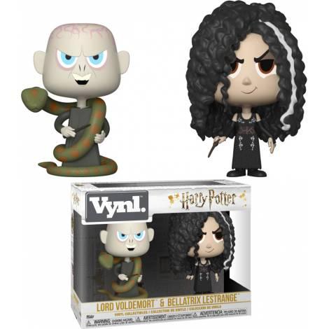 Funko Vinyl Figures: Harry Potter - Bellatrix & Voldemort 2-Pack Figures