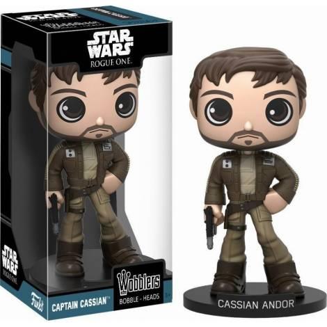 Funko Wobblers Star Wars Rogue One - Captain Cassian Andor Bobble-Head Figure