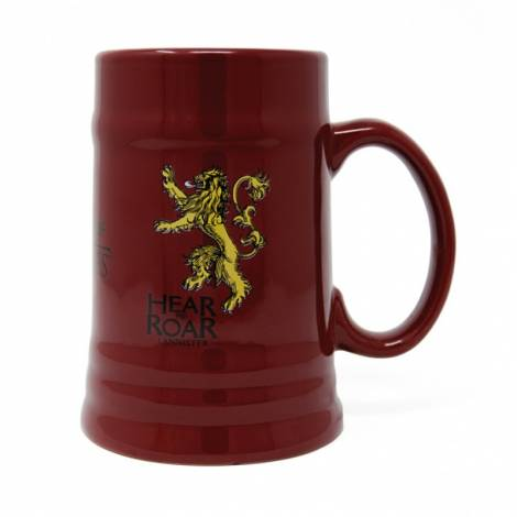 Game of Thrones - Game Of Thrones (House Lannister) Ceramic Stein (MGS24847)