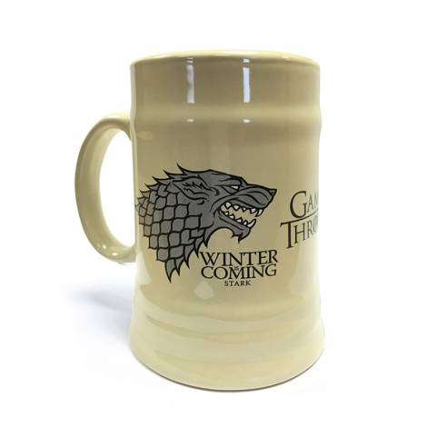 Game of Thrones - Game Of Thrones (House Stark) Ceramic Stein (MGS23800)