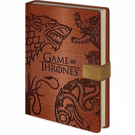 Game of Thrones - Game of Thrones (Sigils) Premium A5 Notebook (SR72419)