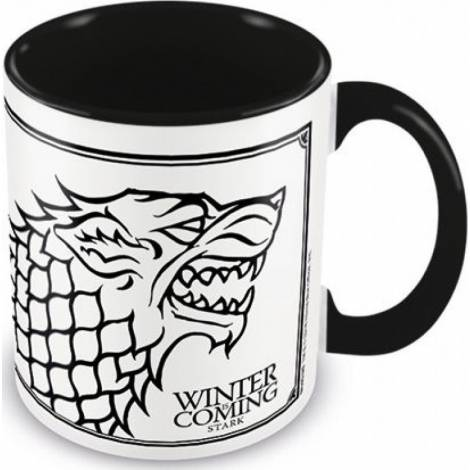 Game of Thrones - Game Of Thrones (Stark) Coloured Inner Mug (MGC25193)