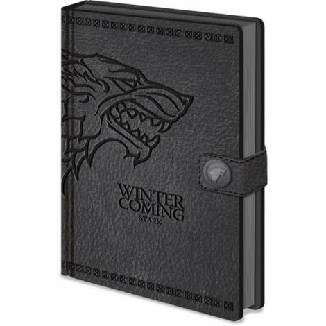 Game of Thrones - Game of Thrones (Stark) Premium A5 Notebook (SR72401)