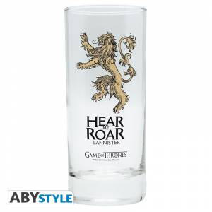 GAME OF THRONES - LANNISTER GLASS