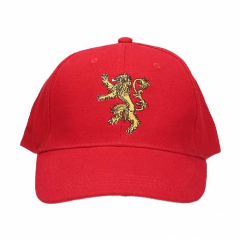 GAME OF THRONES - LANNISTER LOGO RED CAP (SDTHBO89711)