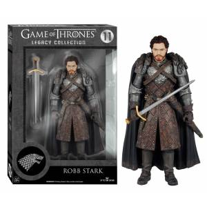 GAME OF THRONES - LEGACY ROBB STARK #11 ACTION FIGURES SERIES 2 (15CM)