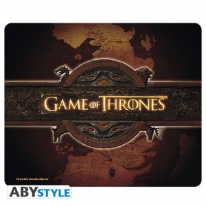 GAME OF THRONES - LOGO AND MAP MOUSEPAD (ABYACC144)