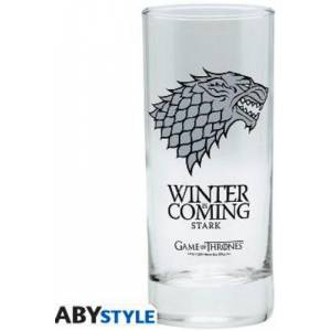 GAME OF THRONES - STARK WINTER IS COMING GLASS (ABYVER009)