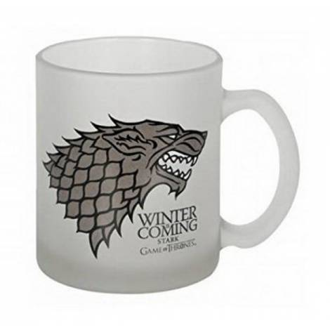 GAME OF THRONES - STARK WINTER IS COMING CRYSTAL MUG