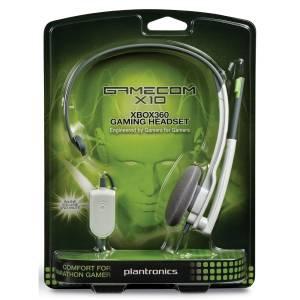 GameCOM by Plantronics X10 Headset (XBOX 360) (72481-05)