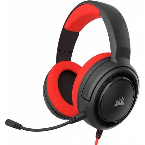Gaming Headset CORSAIR HS35 Red (CA-9011198-EU)