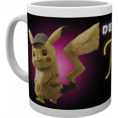 GB Eye Detective Pikachu - Neon Light 296ml Mug (MG3473)