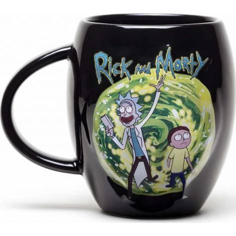 Gb eye Rick Morty - Portal Oval mug (Mgo0011)