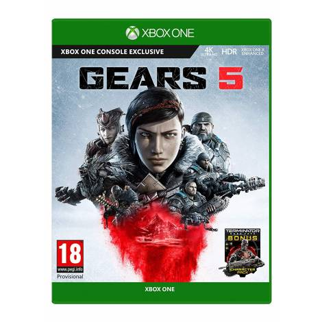 Gears Of War 5 (incl. Terminator Dark Fate Bonus DLC) (Xbox One)